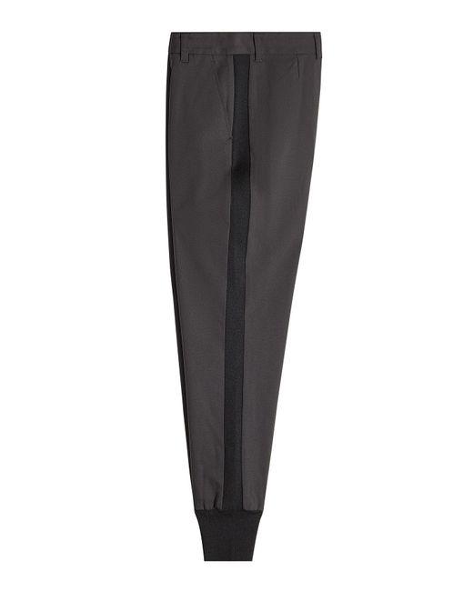 3.1 Phillip Lim - Black Wool Jogger Pants - Lyst