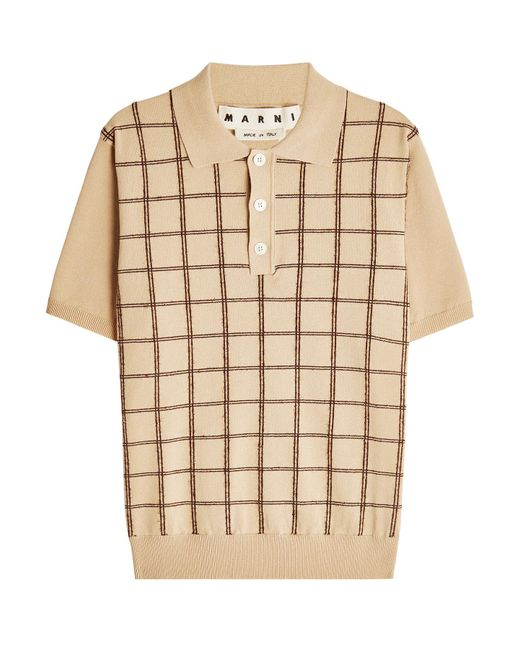 Marni - Multicolor Cotton Polo Shirt for Men - Lyst
