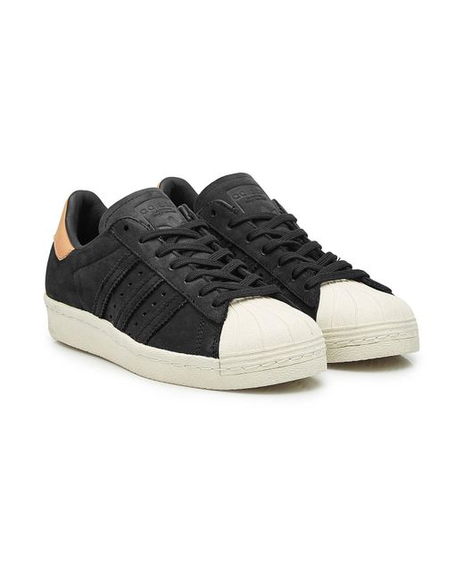 Adidas Originals - Multicolor Superstar 80s Leather Sneakers - Lyst