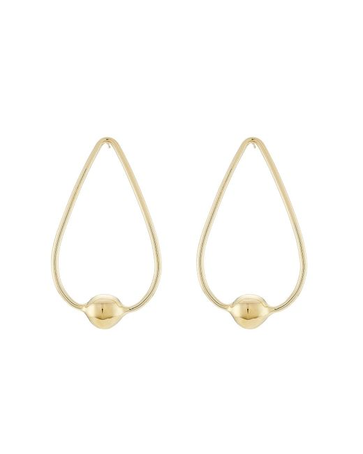 Jennifer Fisher - Metallic Gold-plated Earrings - Lyst