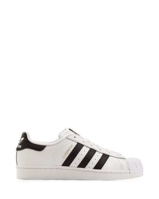 Adidas Originals | Leather Superstar Sneakers - White for Men | Lyst