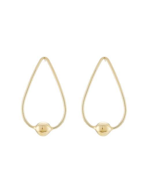 Jennifer Fisher | Metallic Gold-plated Earrings | Lyst