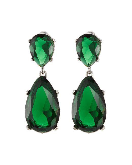 Kenneth Jay Lane | Embellished Earrings - Green | Lyst