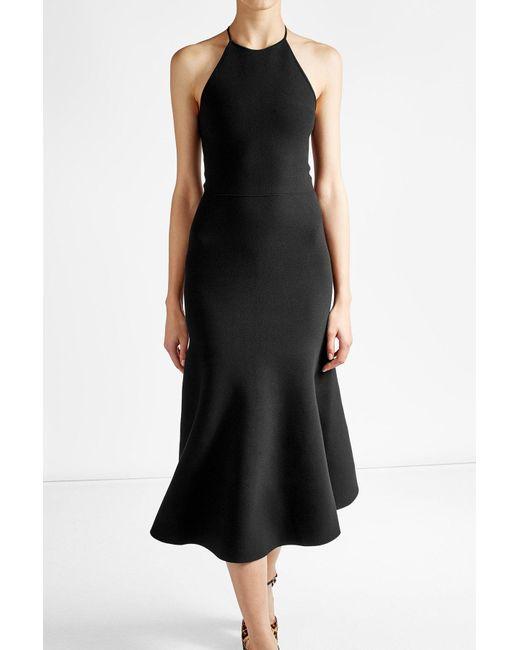 Alexander Wang | Black Midi Dress | Lyst