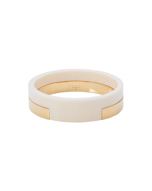 Marni | Metallic Bangle Bracelet | Lyst