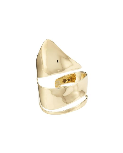 Alexis Bittar | Metallic 10kt Gold Ring | Lyst