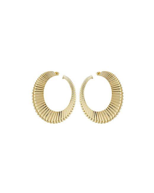 Aurelie Bidermann | 18kt Yellow Gold Plated Earrings | Lyst