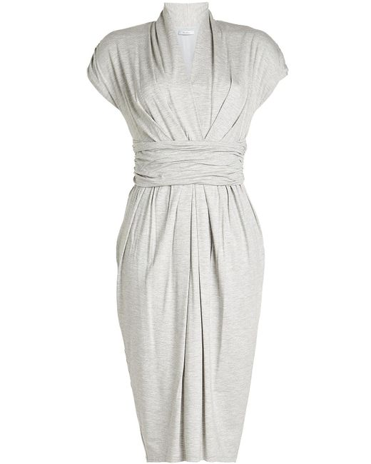 Max Mara - Multicolor Dress With Ruched Waist - Lyst