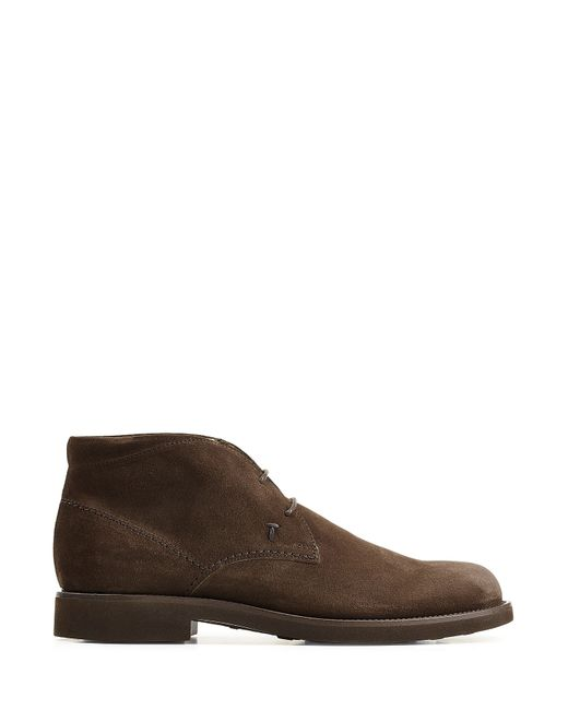 tod 39 s tods suede desert boots brown in multicolour for men lyst. Black Bedroom Furniture Sets. Home Design Ideas