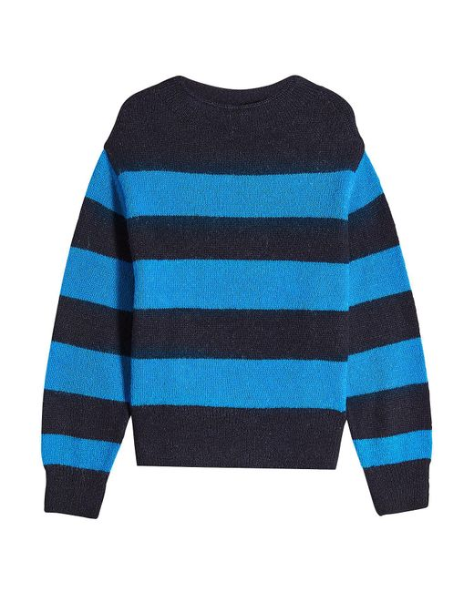 Closed - Blue Pullover With Alpaca And Wool - Lyst