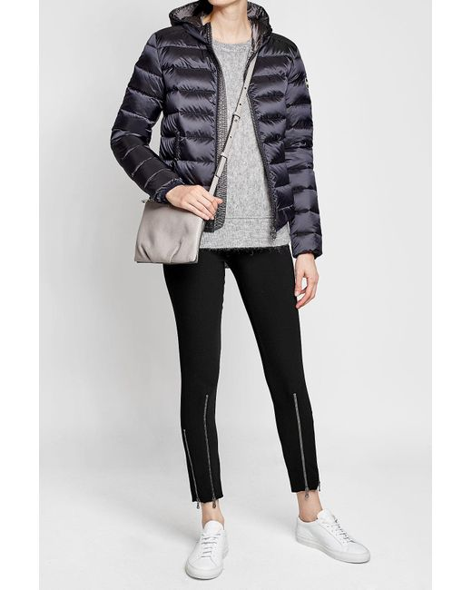 Colmar | Black Quilted Down Jacket With Hood | Lyst