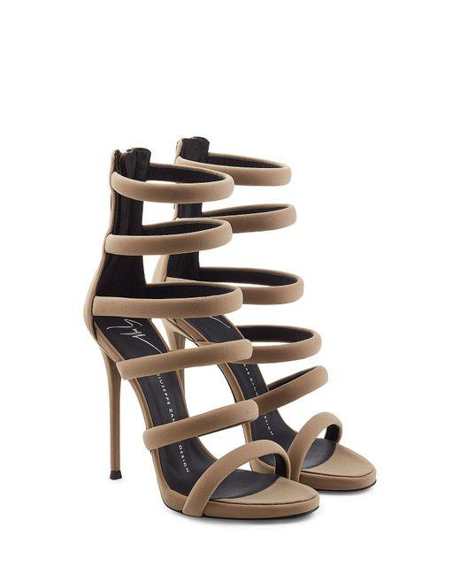 Giuseppe Zanotti - Multicolor Strappy High Heels - Lyst