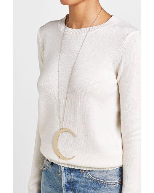 Roberto Cavalli   Metallic Moon And Star Necklace   Lyst