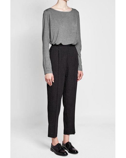 Polo Ralph Lauren | Gray Jersey T-shirt | Lyst
