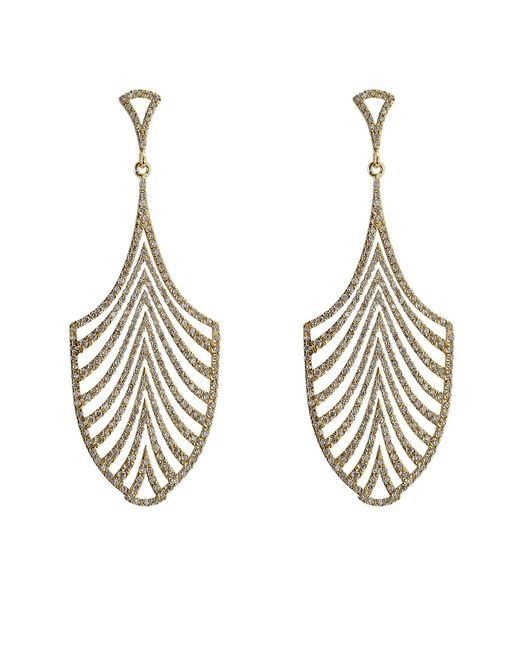 Ileana Makri - Metallic 18-karat Gold And Diamond Escape Earrings - Lyst