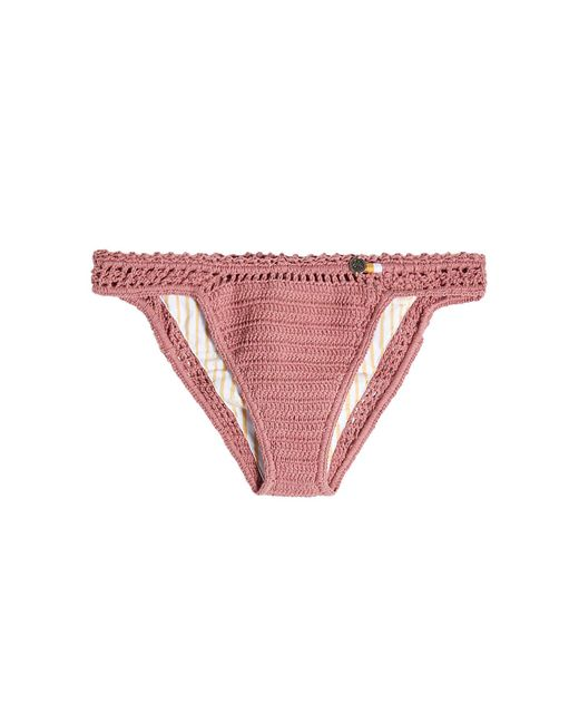 She Made Me - Multicolor Crochet Bikini Bottoms - Lyst