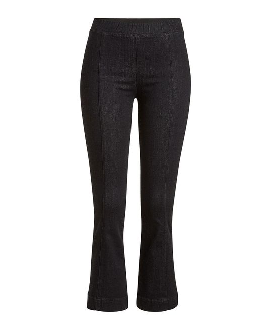 Helmut Lang - Black Cropped And Flared Jeans - Lyst