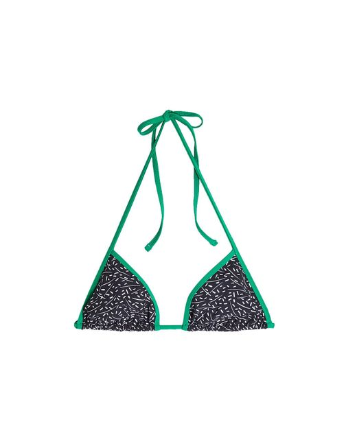 Diane von Furstenberg - Multicolor Reversible Printed Bikini Top - Lyst