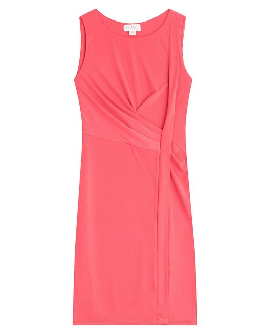 Velvet - Pink Kahula Wrap Dress - Lyst