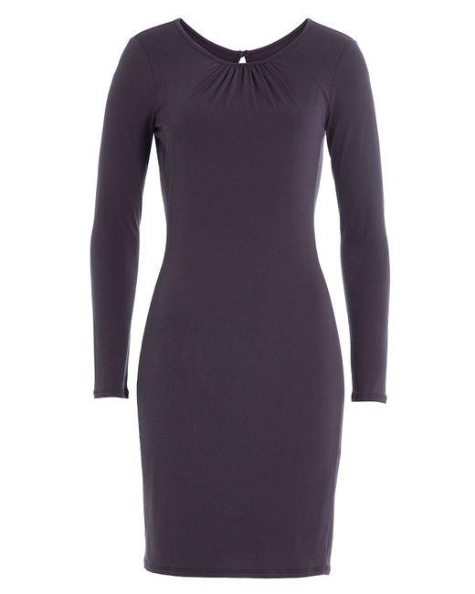 Velvet - Blue Jersey Dress - Lyst