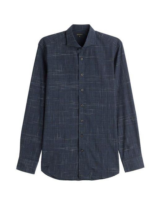 Baldessarini - Blue Cotton Shirt for Men - Lyst