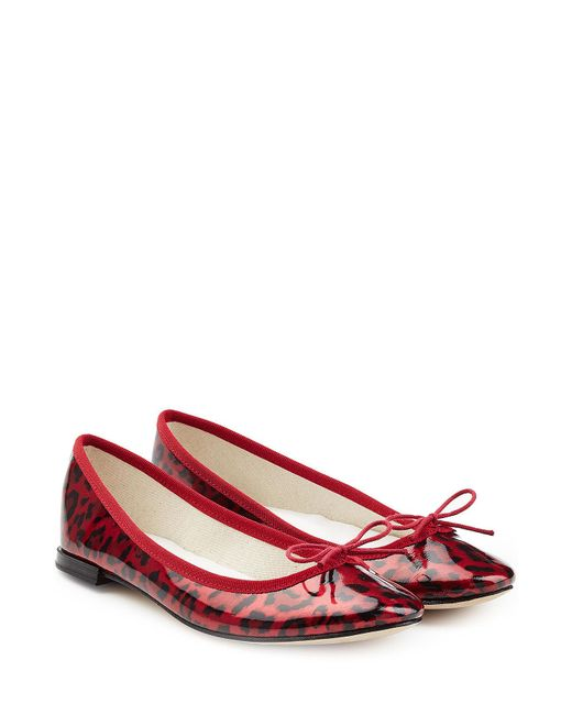 Repetto - Multicolor Cendrillon Printed Patent Leather Ballerinas - Lyst