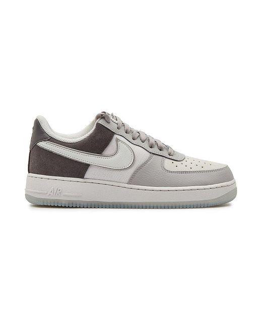 129e734bb95f ... Nike - Gray Air Force 1  07 Lv8 2 Sneakers With Suede And Leather for  ...