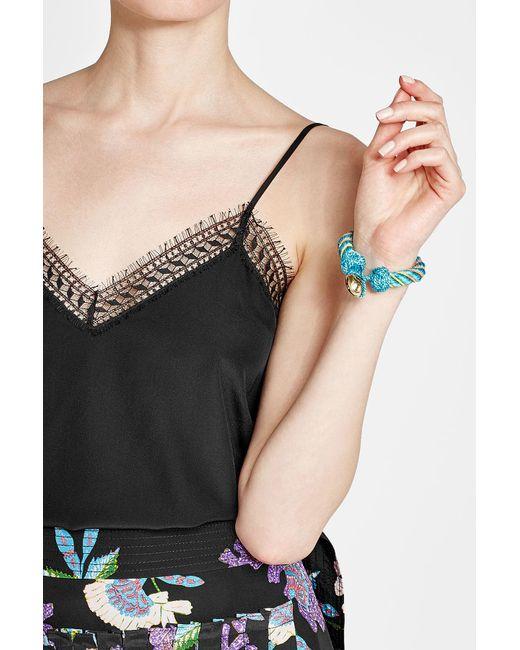 Aurelie Bidermann | Blue Bracelet With Glass Beads | Lyst