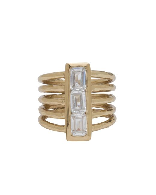Melinda Maria | Metallic Wilder Ring | Lyst