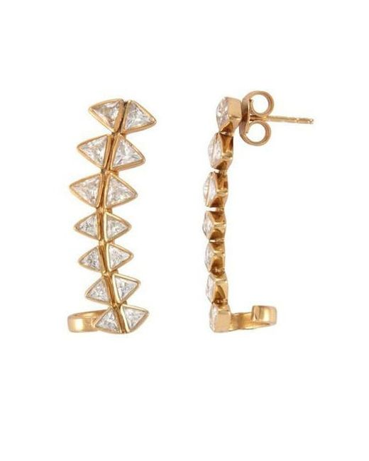 Melinda Maria | Metallic Spencer Ear Cuff | Lyst