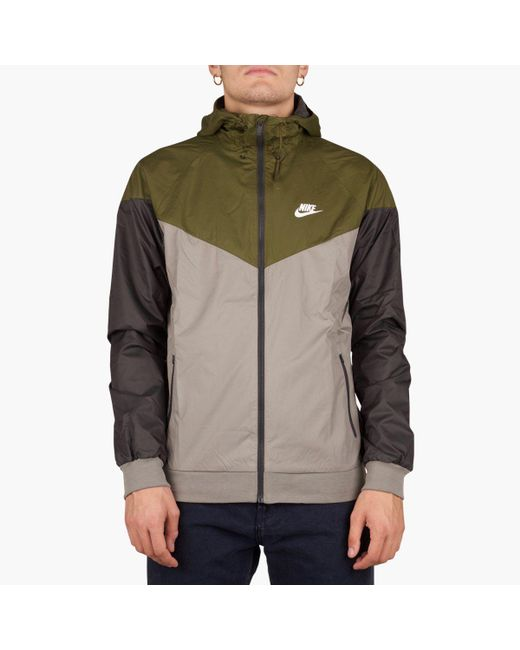 aef1a49d52de Nike - Multicolor Sportswear Windrunner Jacket for Men - Lyst ...