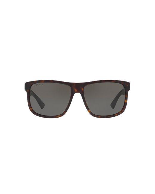 22e8eb05a Gucci - Gray GG0010S for Men - Lyst ...