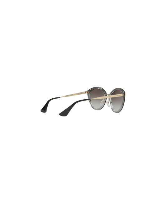 1a8b1fd09c73 wholesale brand new prada sunglasses pr 12us kui 0a7 gold black grey  gradient for women 4c847 07ed8; promo code for lyst prada pr 07us 64  available first at ...