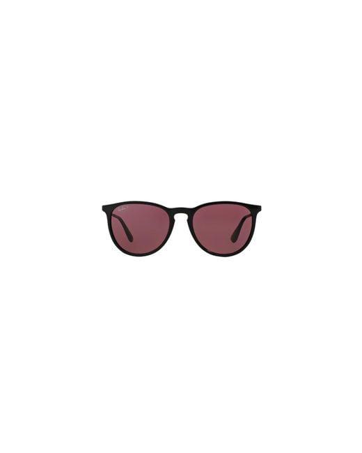 8bb78e1ac6 Lyst - Ray-Ban Black  erika  Pilot Rb4171 Sunglasses in Black for Men