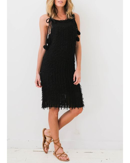 M.Patmos   Black Clara Crochet Dress   Lyst