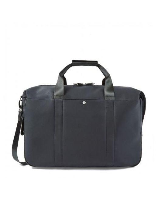 Sunspel - Blue Showerproof Weekend Bag In Navy for Men - Lyst