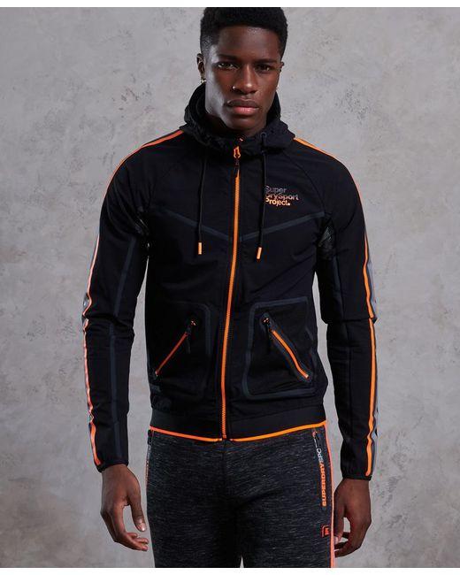 Superdry - Black All Terrain Team Shell Jacket for Men - Lyst