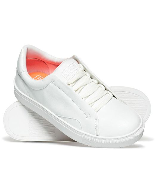 Superdry | White Brooklyn Lo Trainer for Men | Lyst