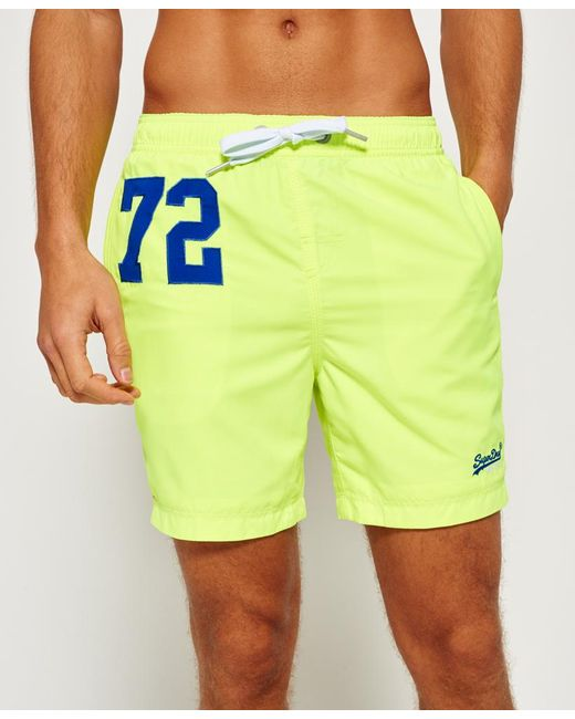 Superdry | Green Premium Water Polo Shorts for Men | Lyst