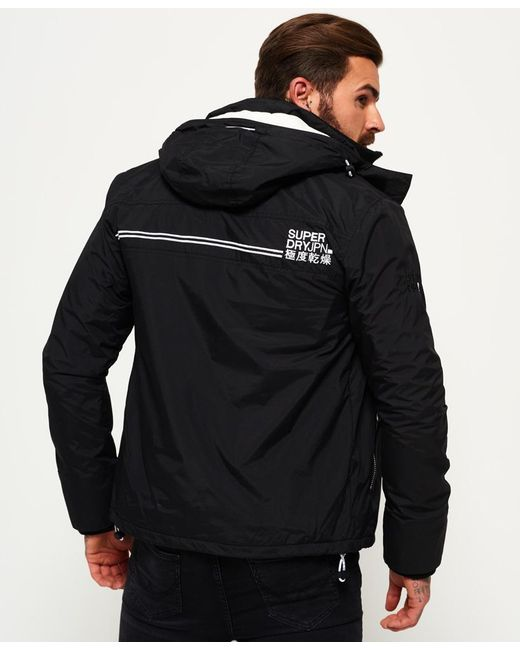 Outlet Huge Surprise Pop Zip Print Hooded Arctic SD- Windcheater Jacket Superdry Free Shipping Cost 2018 Newest Discount New Styles Cheap Sale Pay With Visa KRyNkOSC