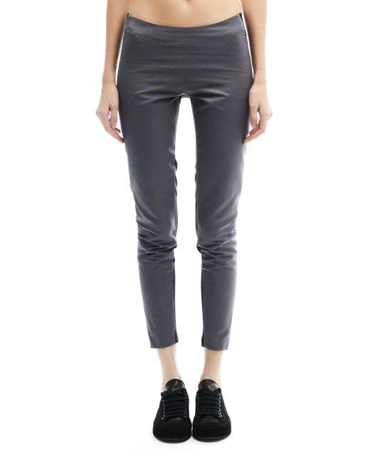 Gareth Pugh - Gray Cotton Trousers - Lyst