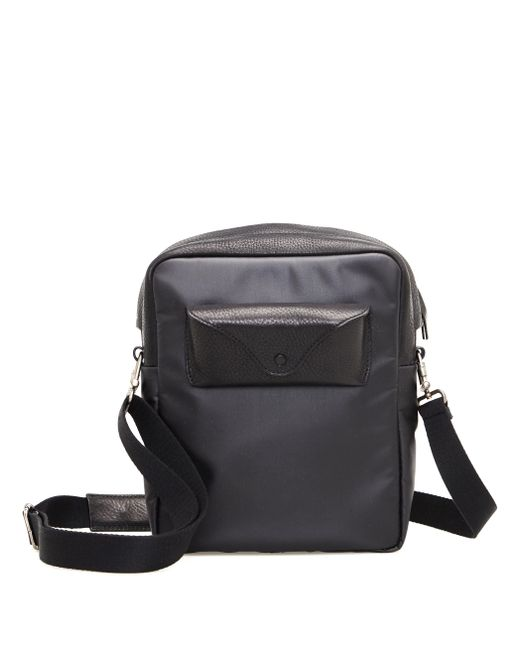 Maison Margiela - Black Leather And Textile Bag for Men - Lyst