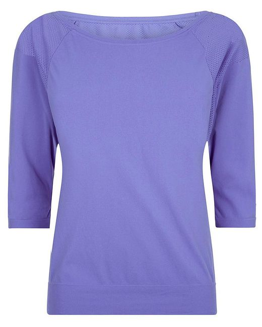 Sweaty Betty - Purple Dharana Short Sleeve Yoga Tee - Lyst
