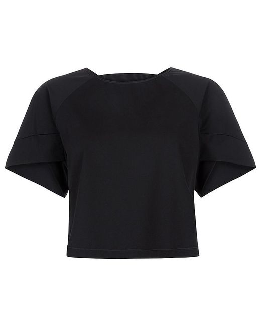 Sweaty Betty | Black Eri Short Sleeve Tee | Lyst