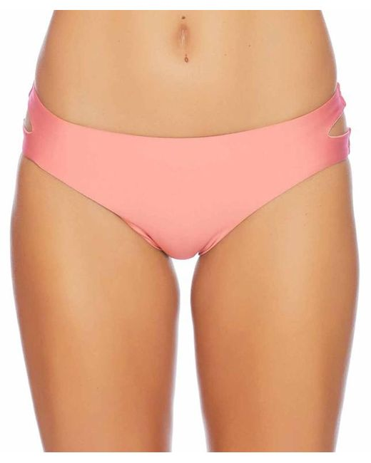 Splendid - Pink Art Deco Side Cutout Bottom - Lyst