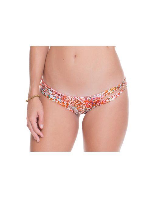 Luli Fama | Pink Untameable Reversible Zig Zag Open Side Moderate Pant Swim Bottom | Lyst