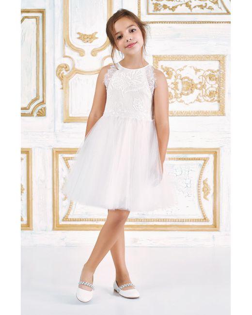 32d2e4c189d0 Tadashi Shoji - White Misty Tulle Dress - Lyst ...