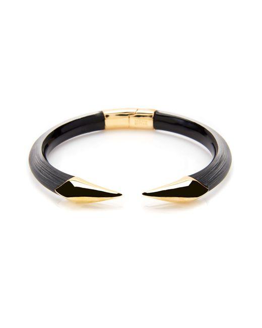 Tadashi Shoji | Metallic Mirrored Pyramid Brake Hinge Bracelet | Lyst