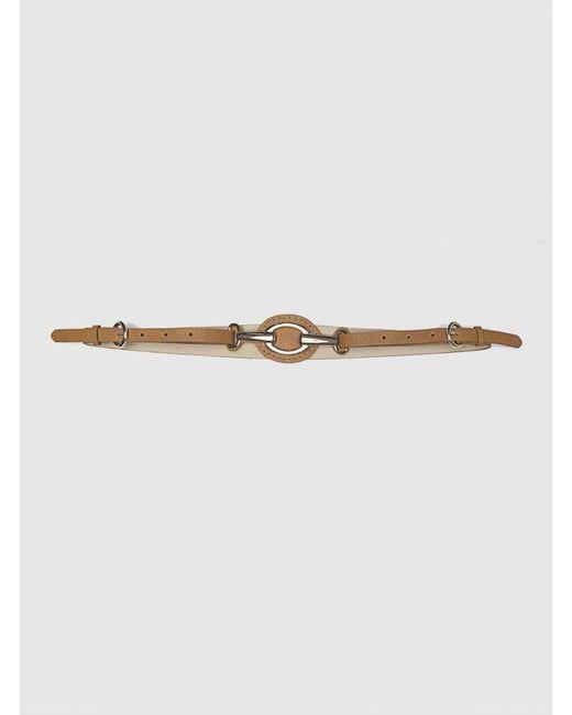 Roman - Light Brown Thin Belt - Lyst