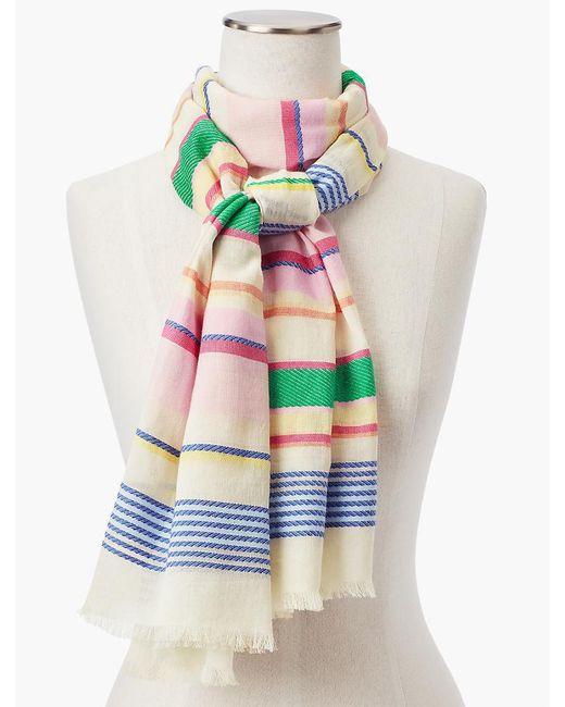 Talbots - Multicolor Yarn-dyed Stripe Scarf - Lyst